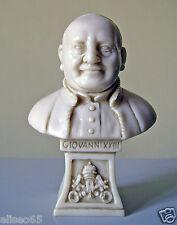 STATUA BUSTO PAPA GIOVANNI XXIII in polvere di alabastro (Marmo) 11 cm