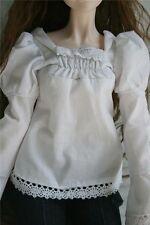 [wamami]51# White Clothes Shirt/Outfit 1/4 MSD DOD BJD Dollfie