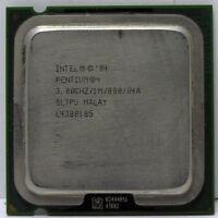 Intel Pentium 4 CPU 3.0 GHz / 1M / 800 Mhz SL7PU LGA 775 socket HT technology