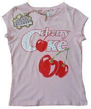 Wow famous forever Rhinestone Cherry Coke Rockabilly 80' of Vintage T-SHIRT S 36