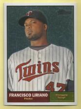 2010 Topps Chrome Baseball Francisco Liriano Heritage Chrome Twins 1955/1961