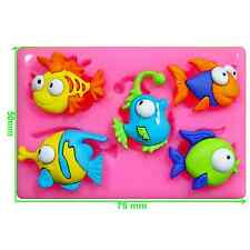 Tropical Fish Silicone Mould by Fairie Blessings