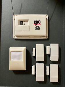 Ricevitore 4 canali Linear Security DXSR1504 con sensore e 4 contatti senza fili
