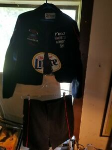 Chase Authentics Women's Rusty Wallace Miller Lite Jacket w/ Matching Skirt