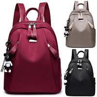 Women Shoulder Bag Leather Backpack Schoolbag Handbag Travel Satchel Rucksack