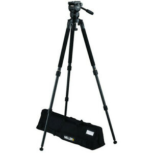 Miller CX2 Fluid Head with Solo 75 2-Stage Alloy Tripod System #3710