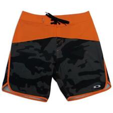 Oakley Crater 2 Orange Camo 32 M Mens Swim Surf Beach Boardies Board Shorts
