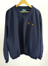 Tri-Mountain Navy Golf Wind resistant Pull Over Size XL