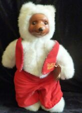Robert Raikes Santa's Elf Bear Christmas 1989 Carved Wood