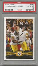 2012 Topps Pittsburgh Steelers Ben Roethlisberger PSA 10