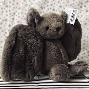 JELLYCAT Small Bashful Bat 18cm ~ NEW with Tags ~ Rare ~ Retired