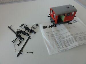 Bemo HOm 1676 412 SBB CFF Baudienst-/Rangier-Traktor Tm II Nr. 662, wie neu, OVP