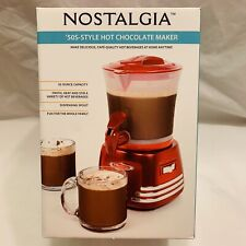 Nostalgia Electrics HCM700RED Hot Chocolate Maker Red
