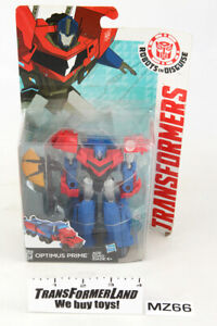 Optimus Prime Sealed MISB MOSC Warrior Robots in Disguise 2015 RID Transformers