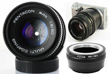 50mm f/1,8 + BAGUE SONY NEX 7 6 5 T 5R 5N 5 3N F3 Nex C3 VG10 VG20 BOKEH PRIME