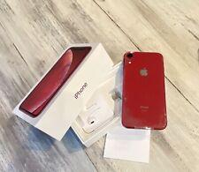 NEWER Apple iPhone XR RED 64GB A+ ORIGINAL PACKAGING ~FINANCED~SEE DESCRIPTION