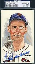 Ted Williams Signed Perez Steele Celebration Psa/dna Authentic Autograph