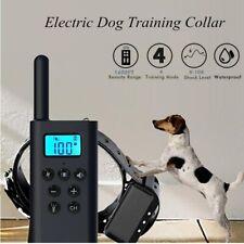 Training Collar Remote Control Waterproof Dog Anti-Barking 800 Yard Rechargeable