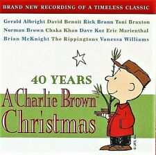 40 Years: A Charlie Brown Christmas by Various Artists - Sealed CD (2005)