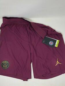 Nike Air Jordan PSG Vaporknit Shorts Size L Paris Saint-Germain Ck7657-610 NWT