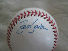 RARE DAVE JUSTICE AUTO SIGNED BASEBALL ATLANTA BRAVES BLOWOUT SALE