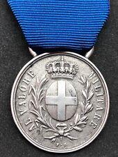 Medaglia al Valore Militare in Argento con Nastro