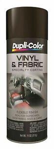 Duplicolor Paint HVP106 Flat Black Vinyl and Fabric Coating 11oz Aerosol Spray