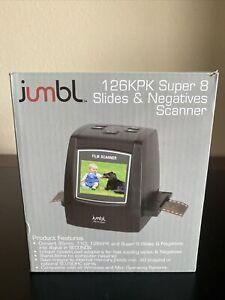 JUMBL 126KPK SUPER 8 SLIDES & NEGATIVES, 35mm, 110 SCANNER - CONVERTER Mac & PC