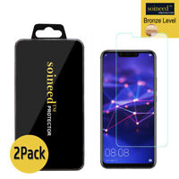 """2-Pack Soineed Tempered Glass Screen Protector For Huawei Mate 20 Lite (6.3"""")"""