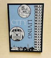 """CITY LIVING 30 oversized postcards Darling & Co 5"""" X 7"""" Mail Correspondence"""