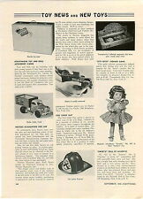 1948 PAPER AD Majestic Doll Sweetie Groetchen Marble Pistol Nylint Toy Trucks
