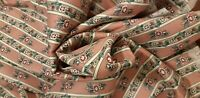 WAVERLY COUNTRY FAIR Schumacher roses floral FABRIC USA collectibles 6+ yards