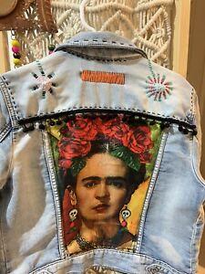ladies denim jacket size 10