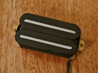 HOT TWIN BLADE BRIDGE HUMBUCKER PICKUP BLACK ALNICO 5 MAGNET FOUR CONDUCTOR WIRE