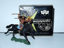 BRITAINS SWOPPETS COWBOYS & INDIANS #531 H531 MOUNTED BRAVE w/ SPEAR IN BOX