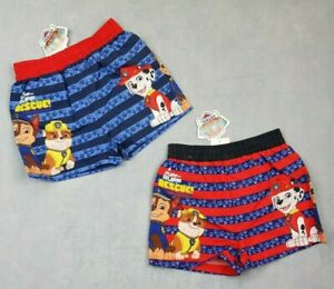 Official Paw Patrol Boys Swimming Shorts Trunks Pool Beach Holiday Age 3-6 Years