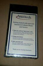 "AMERITECH Cellular Phone & Service VHS ""QUICK START"" & Info to Make 1st Call NOS"