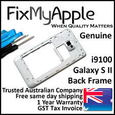 Samsung Galaxy S2 i9100 White Back Housing Frame Camera Lens Cover Replacement
