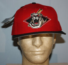 Vintage Deadstock 1994 - 1996 Jamestown Jammers Red Fitted Hat Cap 7 1/2