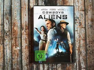 DVD: COWBOYS & ALIENS mit Daniel Craig + Harrison Ford