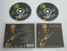 THE GREG LAKE RETROSPECTIVE/FROM THE BEGINNING(ESDCD 552) 2XCD ALBUM