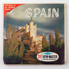 Vintage View-Master Reels Set Packet B171 SPAIN Nations of the World