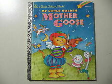 Disney: Mother Goose Rhymes by Golden Books Staff (1994, Hardcover)