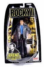 Rocky 2 II Jakks Brent Musberger Boxing Action Figure MOC Sylvester Stallone xb1