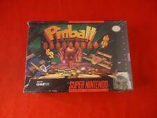 Pinball Fantasies (Super Nintendo SNES, 1995) **BRAND NEW** Factory Sealed!