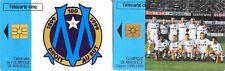 14 TELECARTES Olympique de Marseille - Saison 1998/1999 - Centenaire