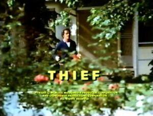 Thief - 1971 US TV Movie. Stars: Richard Crenna, Angie Dickinson (UK/Euro dvd)