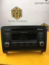 AUDI TT Mk2 (8J) Concert Radio CD Stereo Head Unit