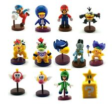 Super Mario Brothers / Super Mario Bros. Action Figure Toy Set of 13pcs Green