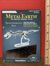 2015 Metal Earth Tyrannosaurus Rex 3D Laser Cut Model Kit